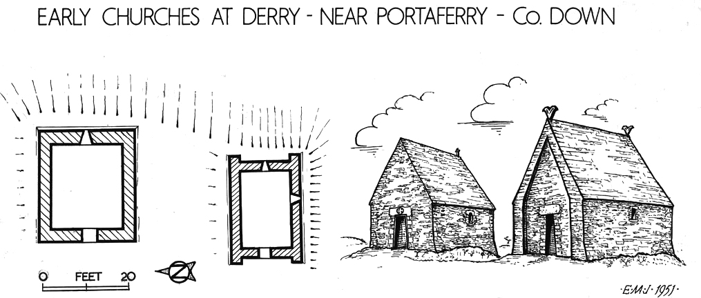 Derry (Portaferry) Church, Strangford, County Down
