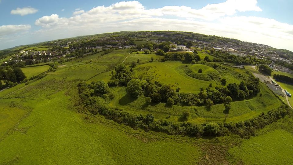 Mound of Down, Strangford, County Down